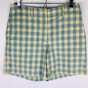 Lauren Ralph Lauren Bermuda Shorts Checked Pattern